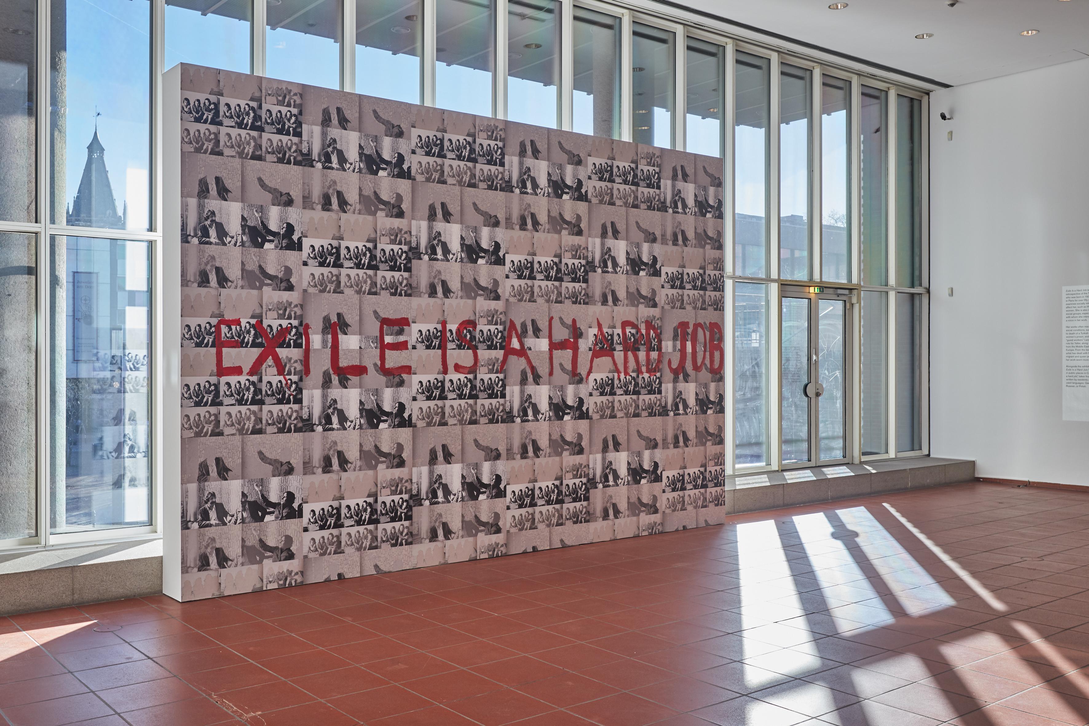Museenkoelnde Bild Der Woche Exil Ist Harte Arbeit